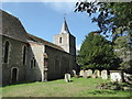 TR2157 : Littlebourne church, the north side by pam fray