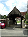 TM1134 : Lych Gate of St.Michael the Archangel Church by Adrian Cable