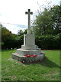 TM1134 : Brantham War Memorial by Adrian Cable