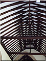 TM1134 : Roof Timbers of St.Michael the Archangel Church by Adrian Cable
