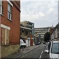 TQ3277 : Boundary Lane, Walworth, south London by Robin Stott