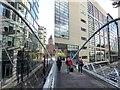 SJ8497 : Footbridge over London Road by Oliver Dixon