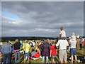 SW7730 : Waiting for the Red Arrows at Penwarne Barton by Rod Allday