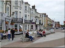 TG5307 : On Marine Parade, Great Yarmouth by Robin Webster