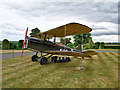 SE5007 : World War I Fighter Plane at Brodsworth Hall by David Dixon