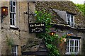 SU2299 : The Trout Inn (2) - sign, St.John's Bridge, Faringdon Road, Lechlade-on-Thames, Glos by P L Chadwick
