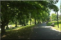 SE2955 : Path, Valley Gardens, Harrogate by Derek Harper