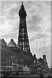 SD3036 : Blackpool Tower, c.1958 by Victor Percival Mills (1921-1974)