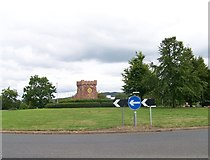 NS5036 : A71 and A719 junction at Galston by Elliott Simpson