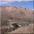 NT0973 : Bridge by Greendykes Bing by Richard Webb