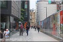 NT2572 : Old and new at Quartermile, Edinburgh (2) by Jim Barton