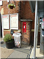 TM0932 : Manningtree Station Victorian Postbox by Adrian Cable