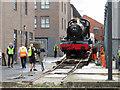 SU1484 : Steam locomotive moves in Swindon : Week 34