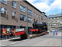 SU1484 : Steam locomotive moves in Swindon by Gareth James