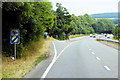 SX8777 : Junction and Layby on the A380 near to Ideford by David Dixon