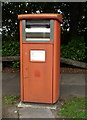 NZ2559 : Royal Mail business box on Eastern Avenue by JThomas