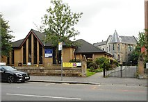 NS5566 : Partick South Parish Church by Richard Sutcliffe