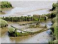 TM2844 : Waldringfield: hulk in the mud : Week 34
