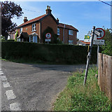 TM2844 : Waldringfield: at the corner of Cliff Road and Sandy Lane by John Sutton