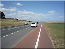 NZ3965 : National Cycle Route 1 towards South Shields by JThomas