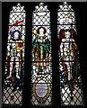 SE6538 : War memorial window in St Helen's Church, Skipwith by Ian S