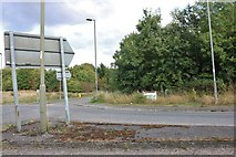 SU4462 : Roundabout on the A343, Wash Water by David Howard