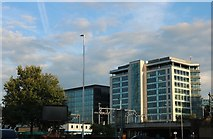 SU7173 : Offices by Vastern Road, Reading by David Howard