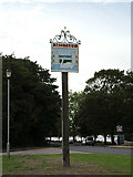 TM1131 : Mistley Village sign by Adrian Cable