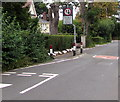 ST3092 : Give way to oncoming vehicles, Pentre Lane, Cwmbran by Jaggery