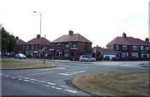 NZ3765 : Houses on King George Road, South Shields by JThomas