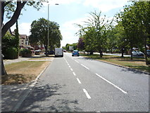 NZ3764 : Looking south on King George Road, South Shields by JThomas