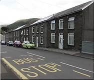 SS9390 : Row of houses, Meadow Street, Ogmore Vale by Jaggery