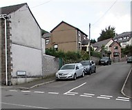 SS9390 : Western part of Blandy Terrace, Ogmore Vale by Jaggery