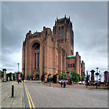 SJ3589 : Anglican Cathedral Church of Christ in Liverpool by David Dixon