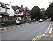 SP2871 : West along Borrowell Lane, Kenilworth by Jaggery