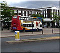 SP2871 : Stagecoach double-decker bus, Abbey End, Kenilworth by Jaggery