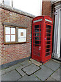 TM1031 : Telephone Box & Notice Board by Adrian Cable