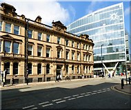 SJ8398 : Old and new on Deansgate by Gerald England