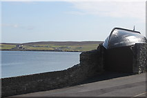 HU4841 : View from Twageos Road across to Bressay by Stuart Taylor