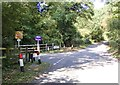 SO8181 : Castle Hill Lane Junction by Gordon Griffiths