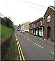 SS9392 : Up Commercial Street, Nantymoel by Jaggery
