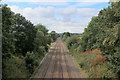 SE1426 : Bradford/Halifax Line from Holmes Bridge, looking South West by Chris Heaton