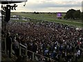 TL6161 : Crowd watching The Vamps at Newmarket by Richard Humphrey