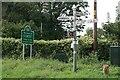 ST7219 : Dorset/Somerset border south of Henstridge by Becky Williamson