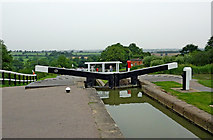 SP6989 : Foxton Top Lock in Leicestershire by Roger  Kidd