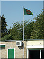 TL7205 : Flag of Great Baddow Bowling Club by Adrian Cable