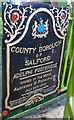 SJ8299 : Dedication Plaque by Glyn Baker