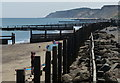 TG2540 : Sea defences at Overstrand by Mat Fascione
