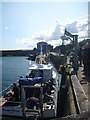 NT9267 : Coastal Berwickshire : Loading The Bevvy For A Men-In-Black Rubberwear Booze-Cruise by Richard West