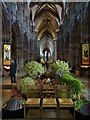 SK1109 : The interior of Lichfield Cathedral by Philip Halling